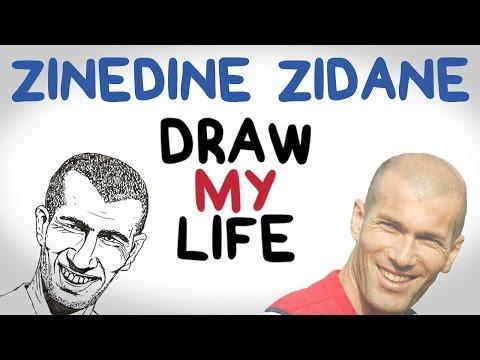 Zinedine Zidane | Draw My Life