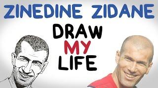 DRAW MY LIFE with Zinedine Zidane