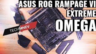 aSUS RAMPAGE VI EXTREME OMEGA Лучшая мать для Skylake-X ОБЗОР, РАЗГОН, VRM test, DDR4 OC 4000Mhz