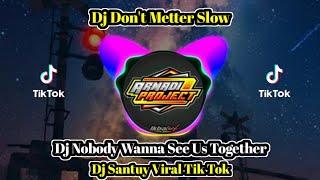 Dj Dont Matter | Dj Nobody Wanna See Us Together Viral Tik Tok Terbaru