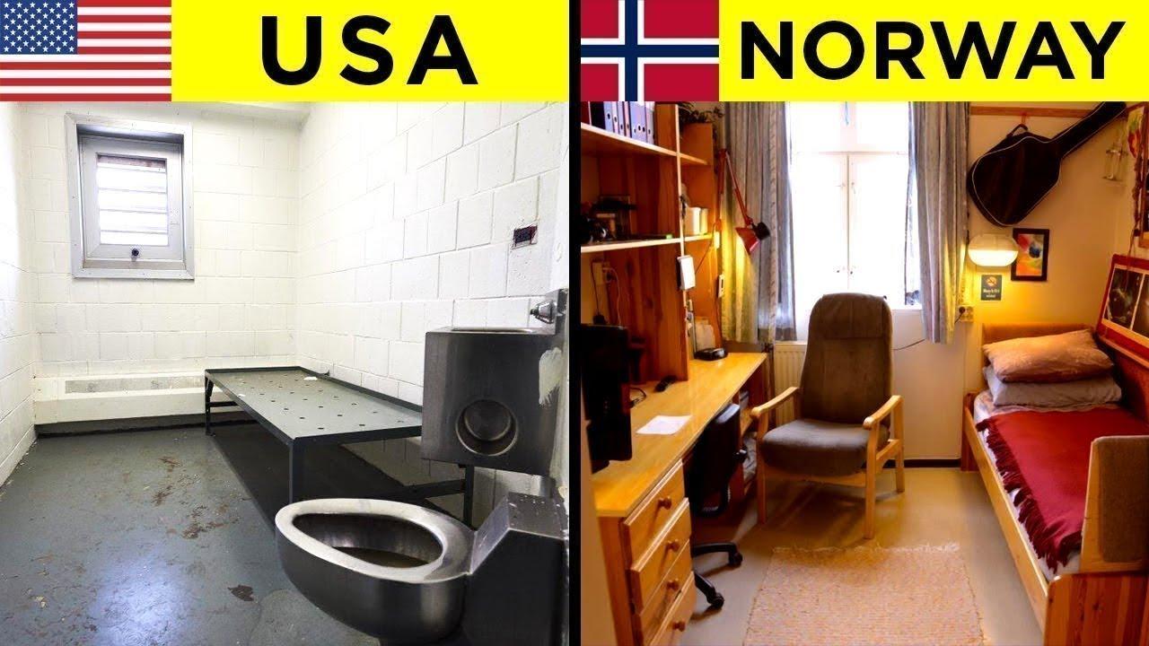 Comparing Prisons Around The World