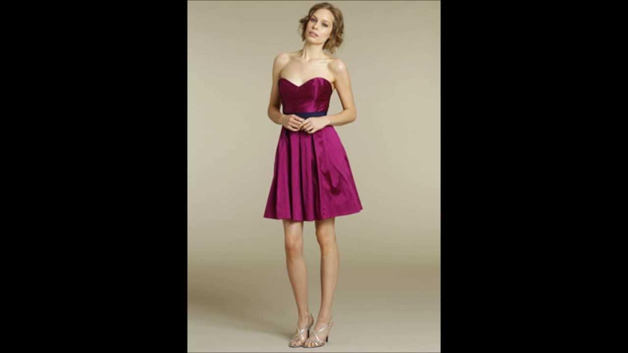 e7b855ba6 Vestidos de Damas JLM - Modelos 2014 - YouTube