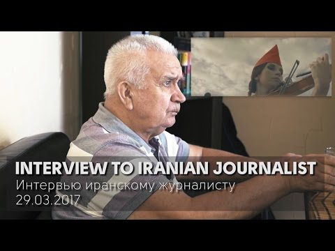Russian mastermind interview to iranian journalist (29.03.2017)