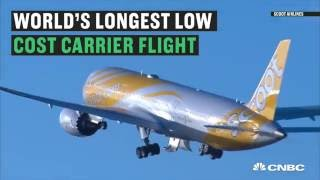 Top 10 Airlines - Would you spend 11.5 hours on a budget airline?