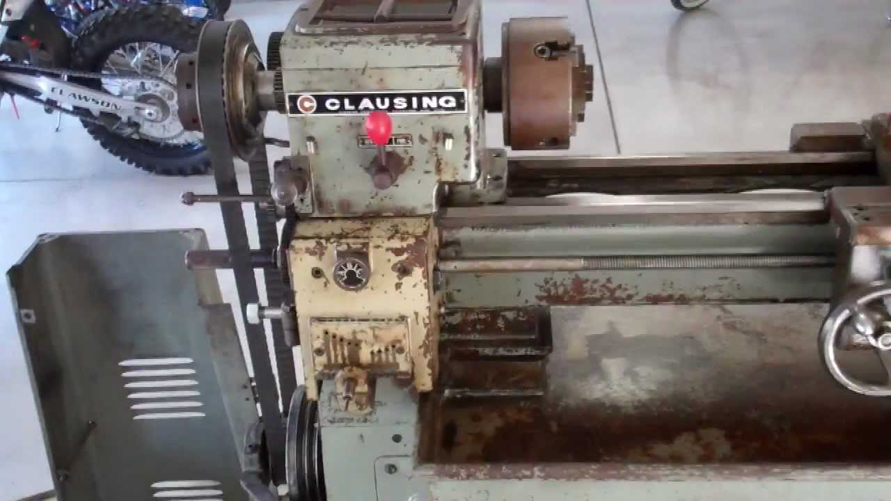 maxresdefault clausing lathe youtube  at panicattacktreatment.co