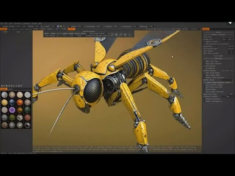 3D Coat 4.5 released! (Real time 3D modeling, rendering, painting, texturing)