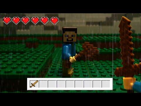LEGO Minecraft Survival Part 2 (Stop Motion Animation)