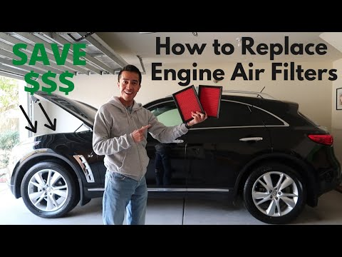 How to Replace Engine Air Filters Infiniti QX70 – DIY So Easy!
