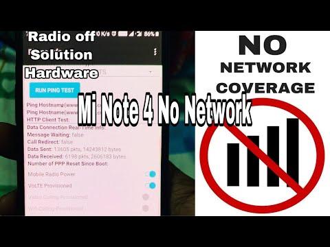 Mi Redmi Note 4 No network No Service Radio Off Hardware Repair