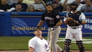 NYM@NYY: Piazza hits a grand slam off Clemens