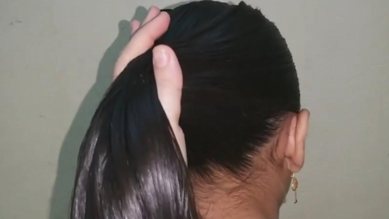 اجمل واسهل واشيك تسريحه شعر للافراح والمناسبات بجد روعه 👍👍❤