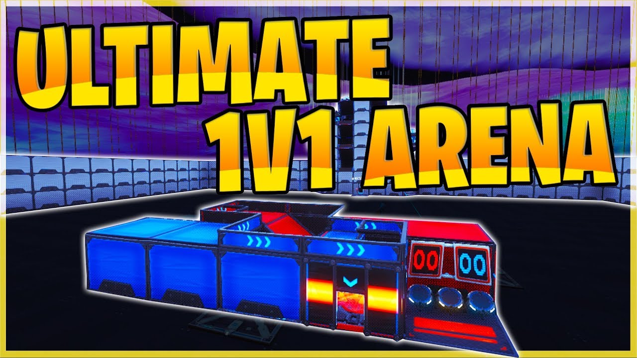 the ultimate fortnite 1v1 arena map with new interactive start timer map code 4183 9946 5757 - the ultimate fortnite map