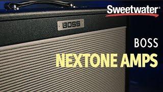 Boss Nextone Amps Demo
