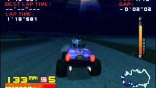 4 Wheel Thunder (Dreamcast): Farwest Night