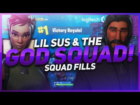 TSM Hamlinz - LIL SUS MEETS GODLY TEAMMATES! (Fortnite BR Full Game)