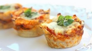 How To Make Lasagna Cupcakes, Our New Favorite Appetizer