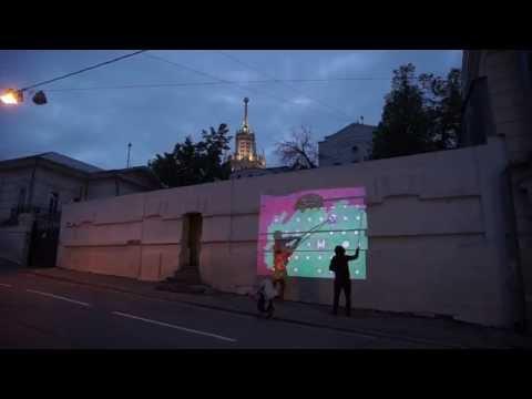 Видеограффити Sweatshoppe - проект Политех