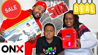 Black Friday Shopping Challenge! (Did They Really Buy That?) - Onyx Family