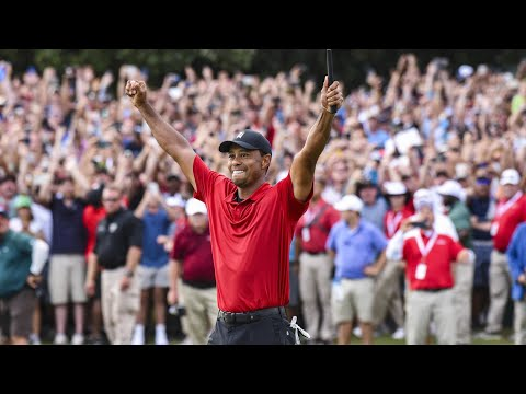 Tiger Woods' best shots 1996-2019 (excluding majors)