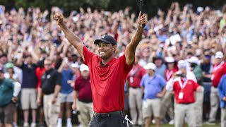 Tiger Woods' Best Shots 1996-2019  Excluding Majors