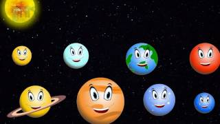 The Solar System Songs: We are the Planets | Planet Songs for Children