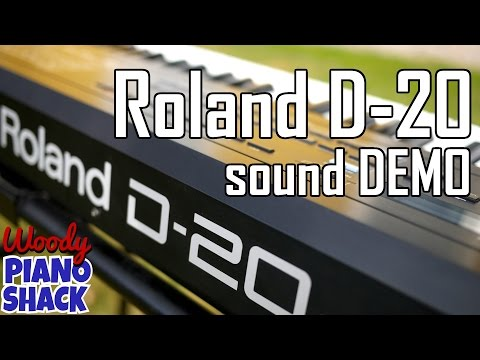Roland D20 demo | Best of the presets | Roland D10 D110 synths