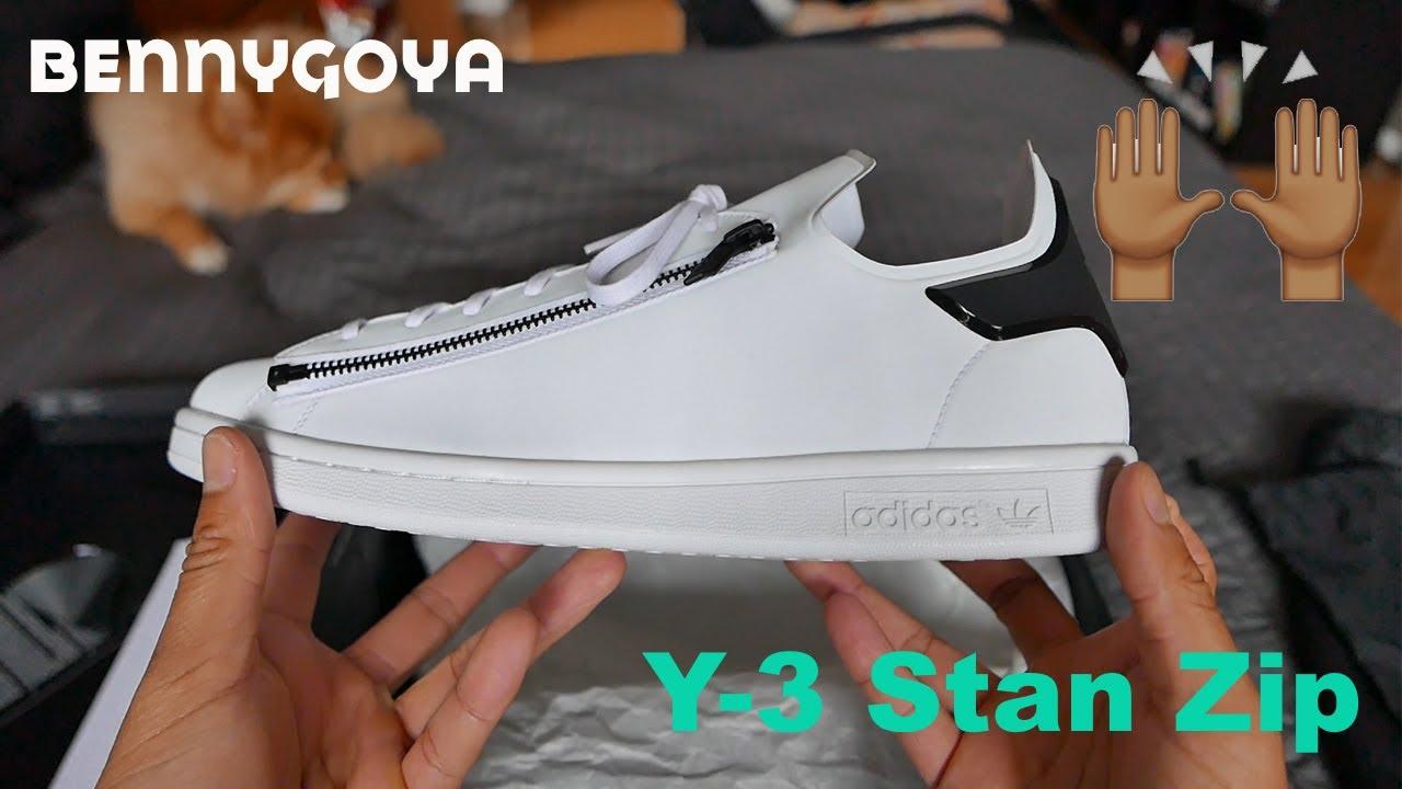 3ff63751dc8d Recent Pickups  Y-3 Stan Zip - YouTube