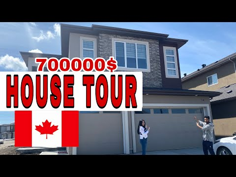 HOUSE TOUR IN CANADA    BASEMENT