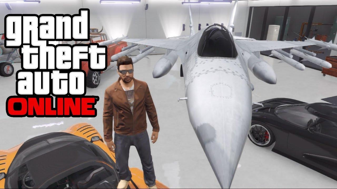 Gta 5 online how to save insure a jet in your garage for Garajes gta v online