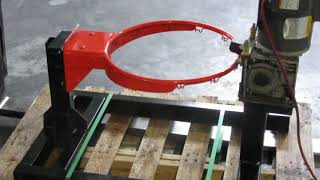 Basketball Rim Testing Machine - First Team Inc.