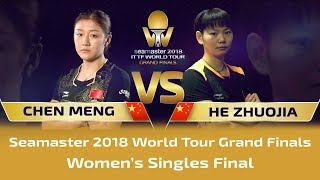 All Comes Down To This! I 2018 World Tour Grand Finals Women's Singles Final