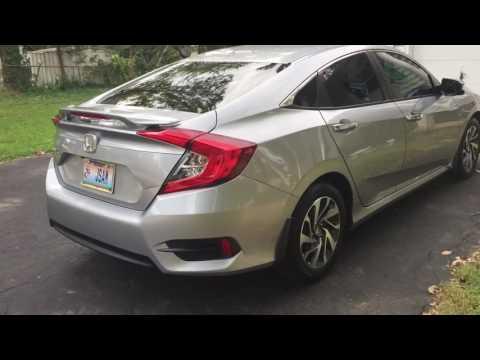 2016 Honda Civic wing spoiler tint