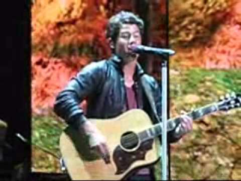 Nick Jonas sings