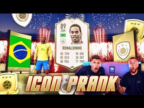 FIFA 20: ICON RONALDINHO in GOLD 3 Rewards PRANK