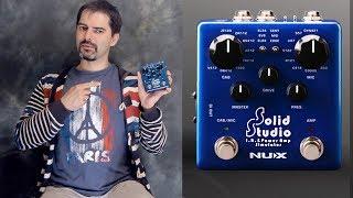 Больше чем плеер импульсов гитарных кабинетов NUX Solid Studio