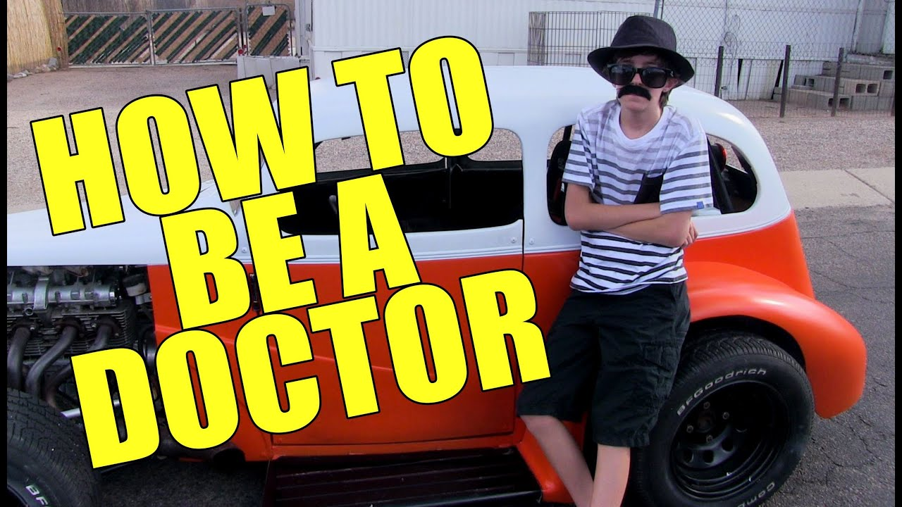 How to be come a doctor?