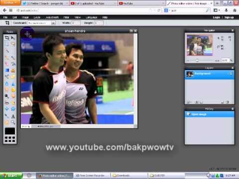Merubah Warna background Foto Online Gak Pakai Ribet.