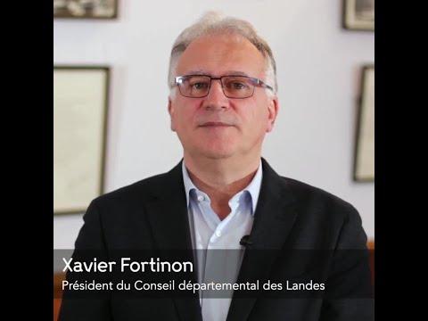 Les vœux 2021 de Xavier Fortinon, Président du Département des Landes