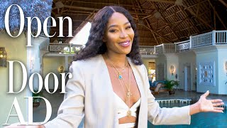 Inside Naomi Campbell's Luxury Villa In Kenya | Open Door | Architectural Digest