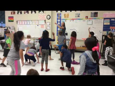 2nd Grade: Do Unit -  Kinesthetic Preparation Lesson