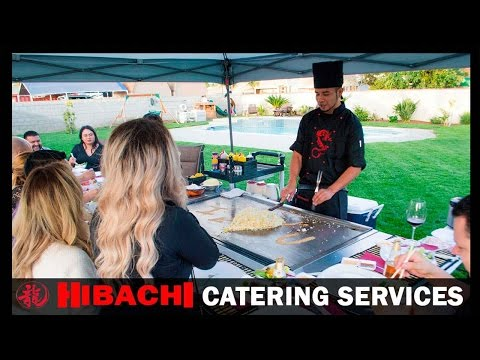 HIBACHI FOR PRIVATE  EVENTS-IMPRESS YOUR GUESTS- SHOW AND ENTERTAINMENT INCLUDED