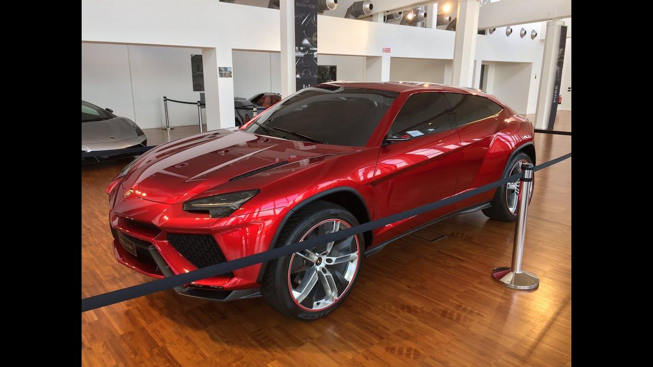 Lamborghini Museum 2015 Sesto Elemento Urus Estoque