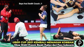 Detik-detik Indonesia jadi Korban.!! Nandini Cedera Horor, Sikap Wakil Prancis Dipuja Fans Indonesia