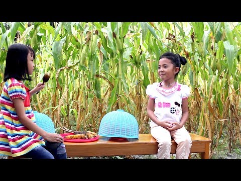 Lucu What if Shinta Jadi Penjual Jagung - Parody Kids Video - Little princess shinta
