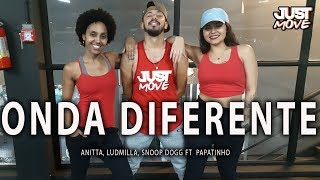Baixar Onda Diferente Rola um Love l Anitta, Ludmilla, Snoop Dogg ft  Papatinho l Coreografia JUST Move