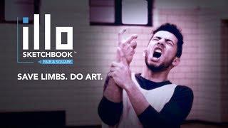 illo sketchbook- Save Limbs. Do Art.