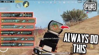 HOW TO WIN EVERY SOLO VS SQUAD MATCH - PUBG MOBILE