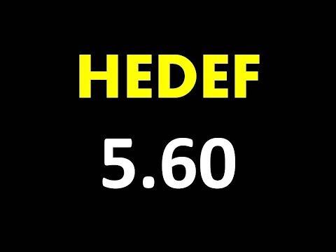 HEDEF 5.60 / DOLAR TL | (Forex Anlık Döviz Kuru | Foreks Canlı Teknik Analiz)