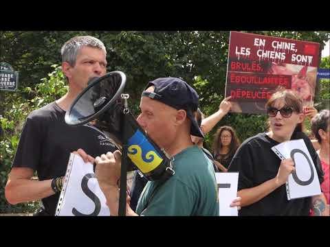 Stop au festival de Yulin (Paris - 19 juin 2018)