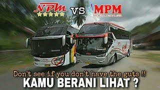 Download lagu Aksi menegangkan Bus NPM vs Bus MPM